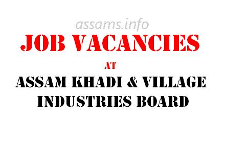 Assam Khadi Jobs